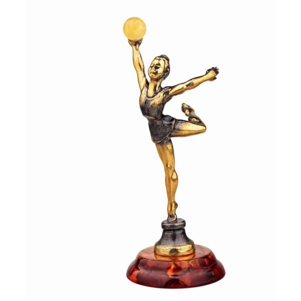 Статуэтка гимнастки фигурка подарки символические