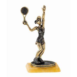 Теннисистка статуэтка. Подарки для тенниса