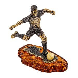 Статуэтка фигурка футболисту футбольные подарки