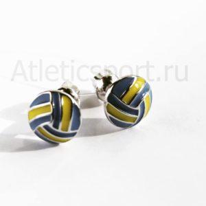кулон для волейболиста украшения из серебр 925