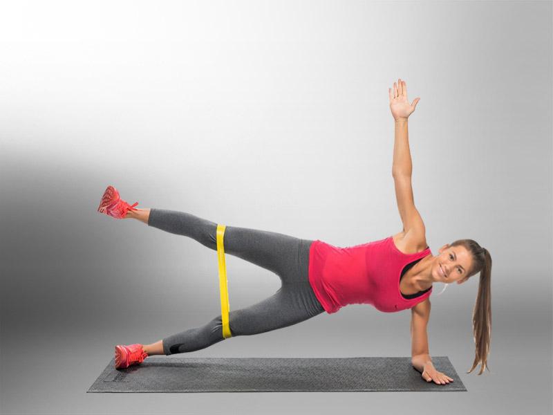 польза от упражнений с фитнес резинками