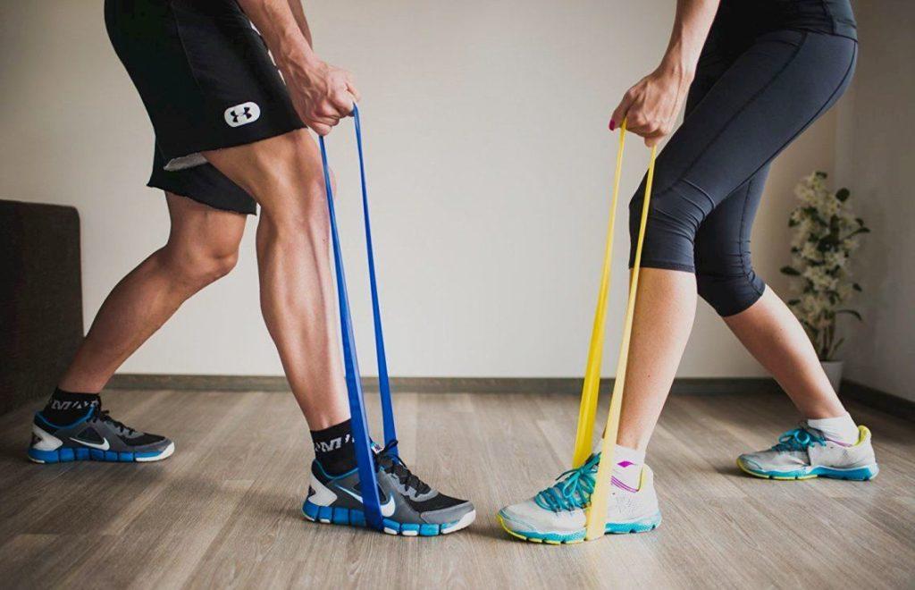 что такое фитнес резинки с упражнения с резинками