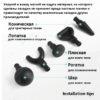 Перкуссионный пистолет массажер Booster Pro 2 купить недорого 4