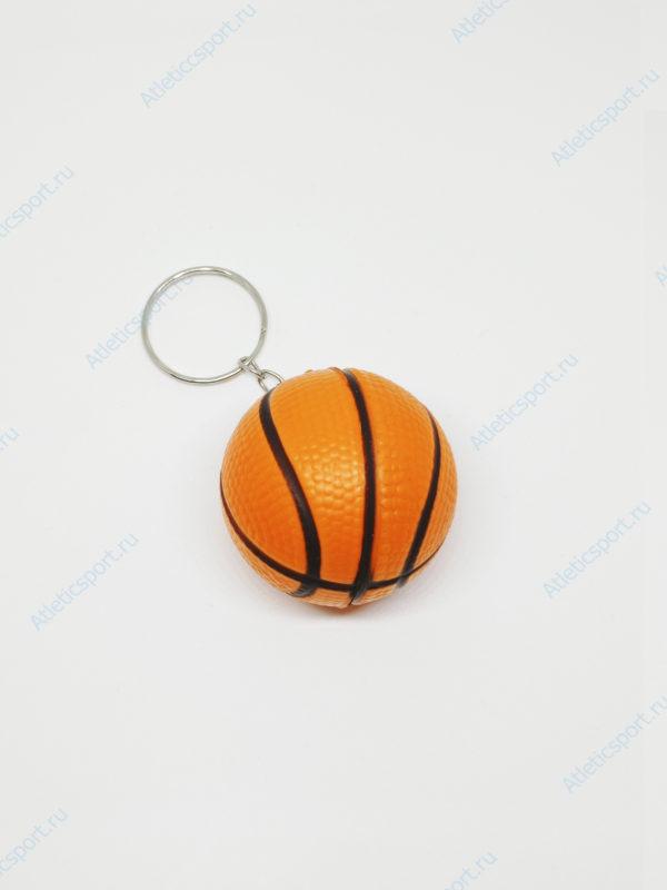 брелок баскетбольный мяч на подарок баскетболисту оранжевый 2